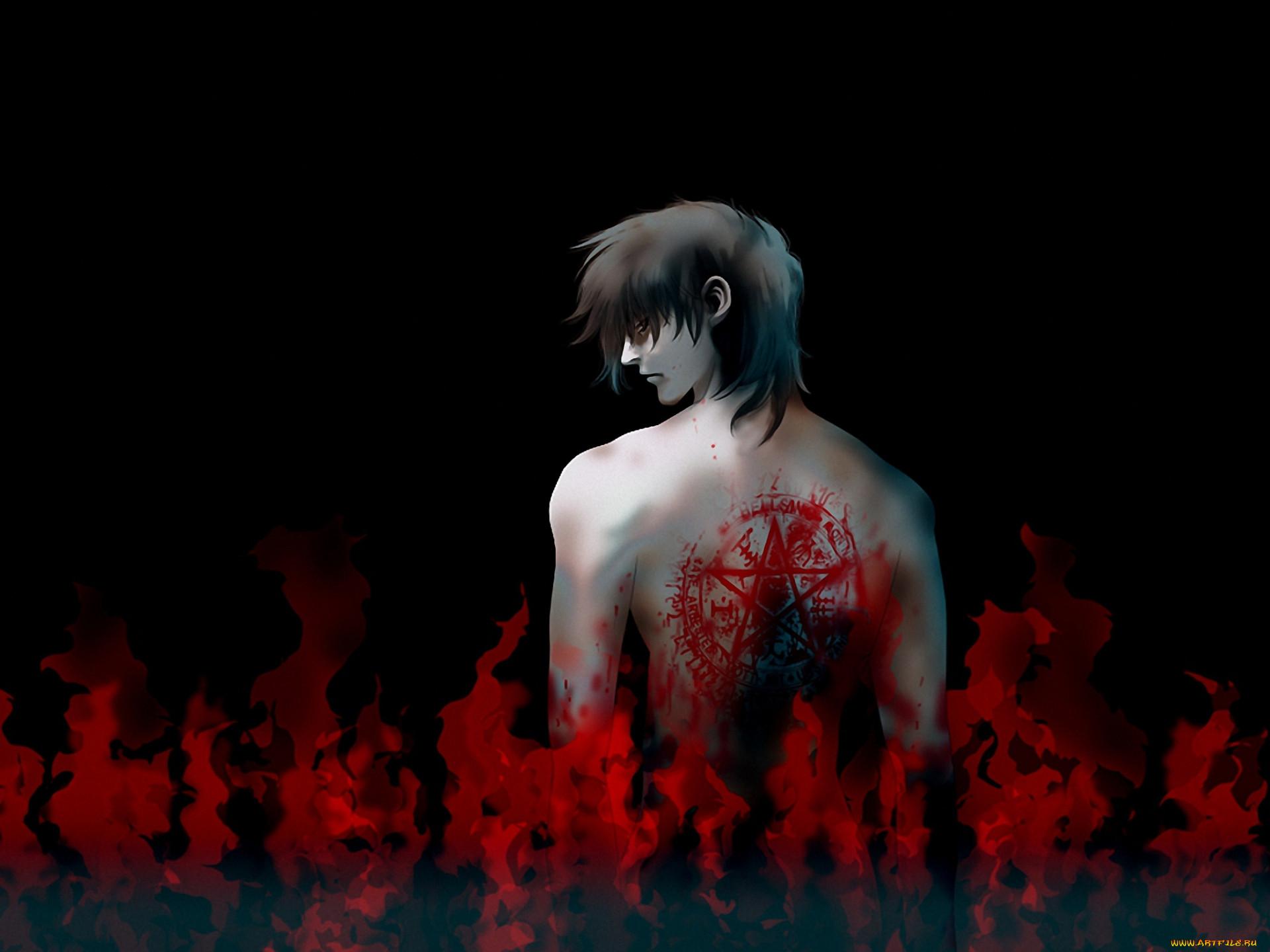 аниме, hellsing, алукард, alucard, дракула, вампир, dracula
